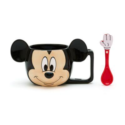 Mickey Mouse Mug with Spoon