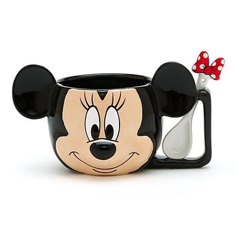 Minnie Maus - Becher mit Löffel