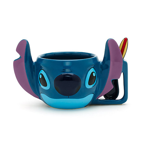 Stitch Mug with Spoon