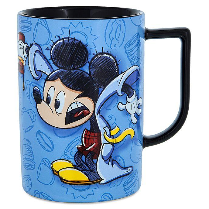 Taza con inscripción Mickey Mouse dormilón