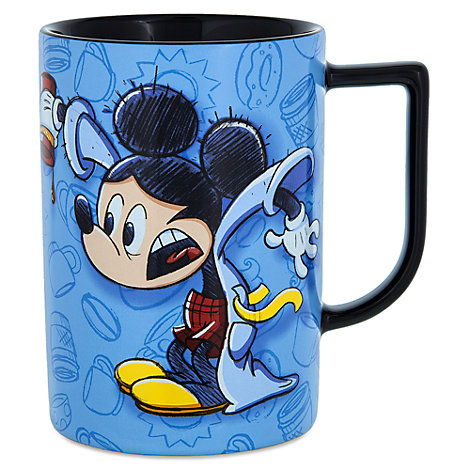 Sleepy Mickey Mouse Quote Mug