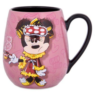 Sleepy Minnie Mouse Quote Mug