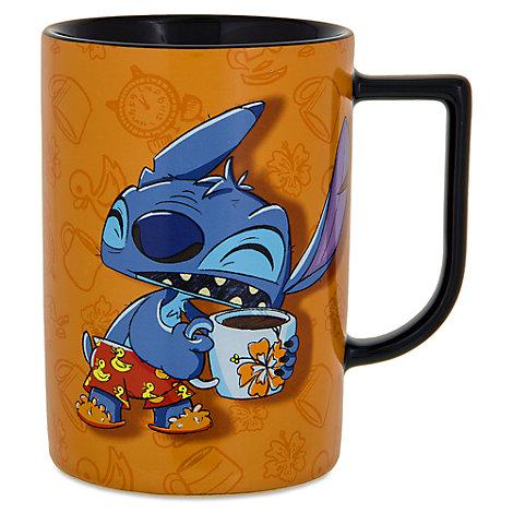 Mug Stitch endormi avec citation, Lilo et Stitch