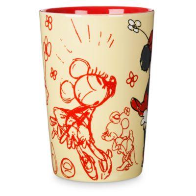 Taza bocetos Minnie Mouse
