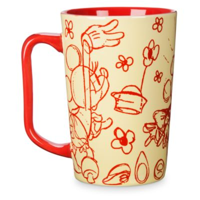 Minnie Mouse Sketches Mug
