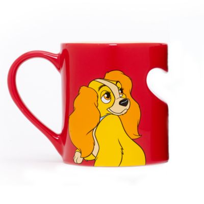 Mug de couple Lady, La Belle et le Clochard