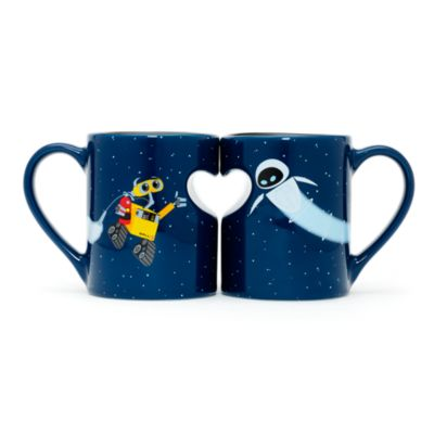Wall e couple mug - Walle and eve mugs ...