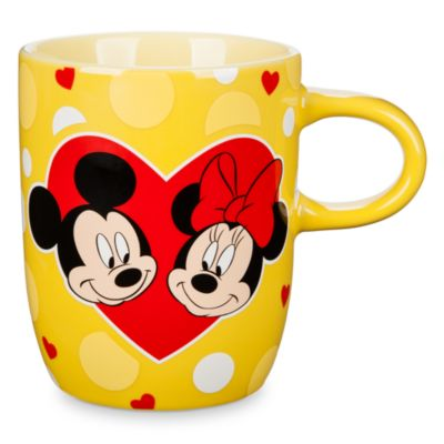 Taza Mickey y Minnie Mouse