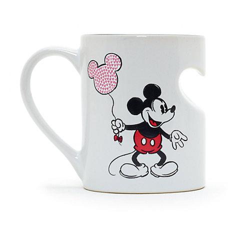 Taza a dúo Mickey Mouse