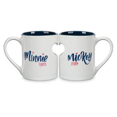 mug couple minnie mouse. Black Bedroom Furniture Sets. Home Design Ideas