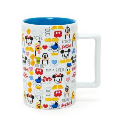 Musse och hans vänner emoji-mugg
