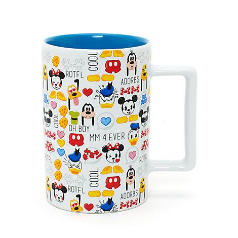 Taza de emojis de Mickey y sus amigos