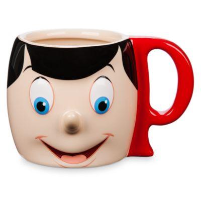 Taza tipo figurita Pinocho