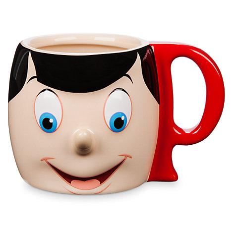 Tazza a forma di Pinocchio