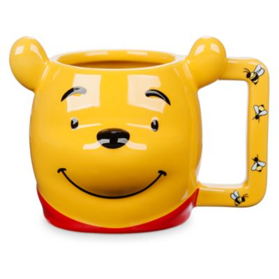 Taza tipo figurita Winnie the Pooh