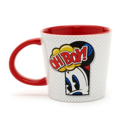 Micky Maus - Becher im Pop-Art-Stil