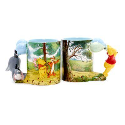 Winnie the Pooh Sculpted Handle Mug