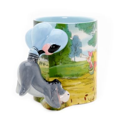 Eeyore Sculpted Handle Mug