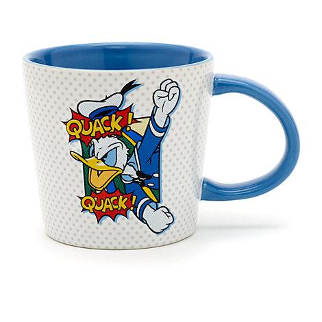 Donald Duck - Becher im Pop-Art-Stil