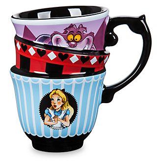 Disney Store Mug effet empilé Alice au Pays des Merveilles