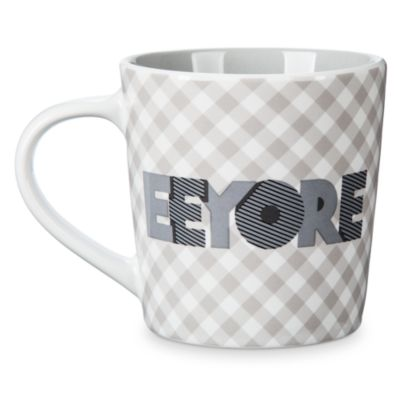 Eeyore Gingham Mug