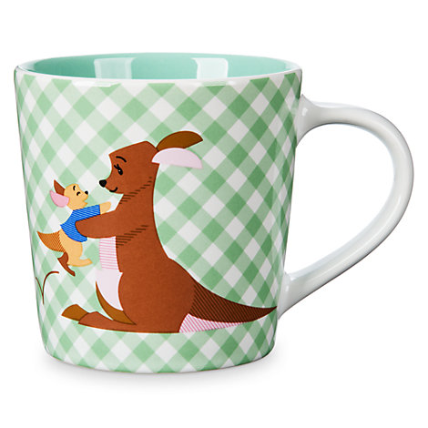 Kanga and Roo Gingham Mug