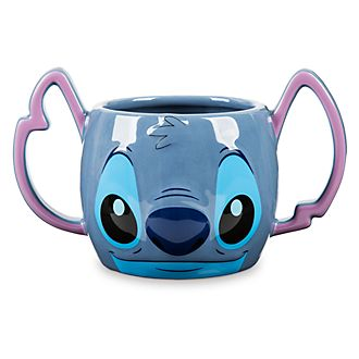 Taza con forma de Stitch, Disney Store
