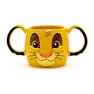 Taza con forma de Simba, Disney Store