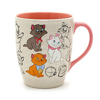 Taza animada Los Aristogatos, Disney Store