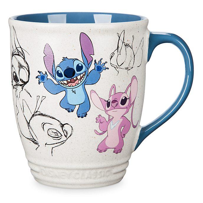 Taza animada Stitch y Ángel, Disney Store