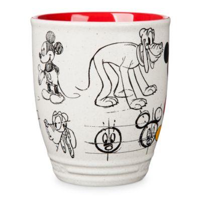 Taza animada Mickey y Pluto