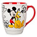 Disney Store Mug avec dessin Mickey et Pluto