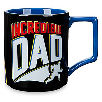 Disney Store Mug Incredible Dad, Les Indestructibles