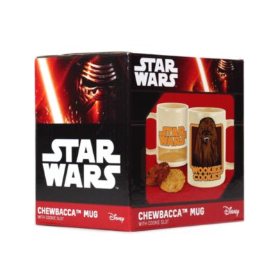 Chewbacca Mug with Cookie Holder, Star Wars