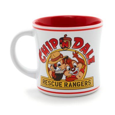 Taza retro Chip y Chop: Guardianes rescatadores