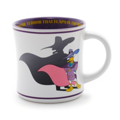 Taza retro Pato Darkwing