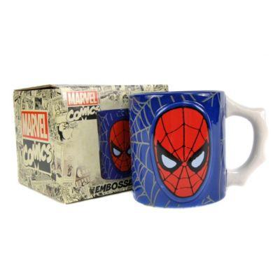 Spider-Man Embossed Mug