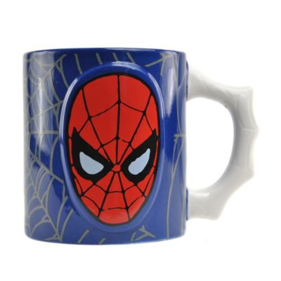 Taza con relieve de Spider-Man