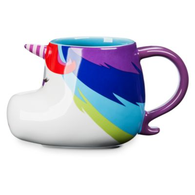 Taza del Unicornio Arco Iris, Del Revés