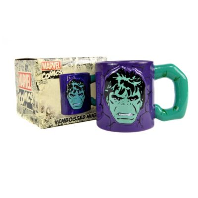 Taza en relieve Hulk, Marvel