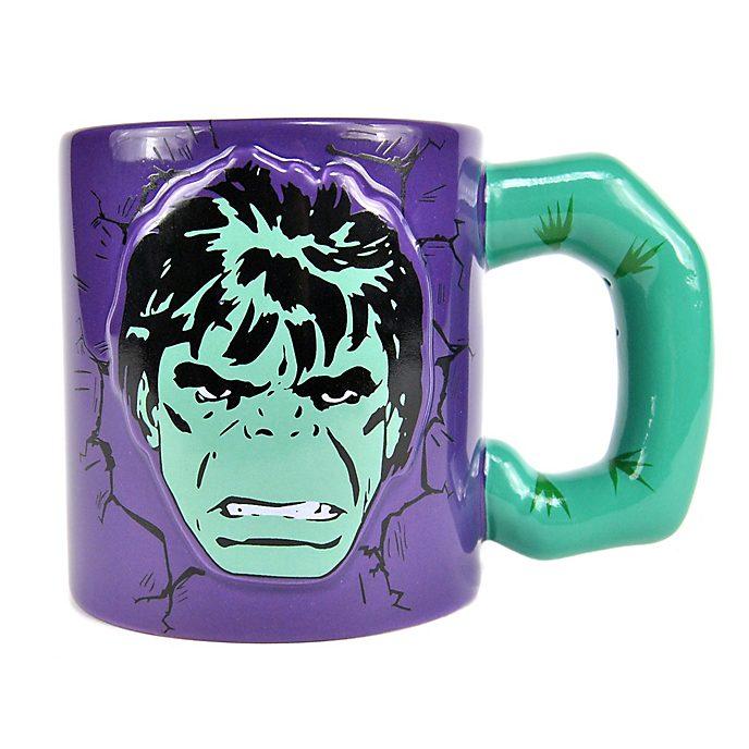 Tazza con immagine a rilievo Hulk, Marvel