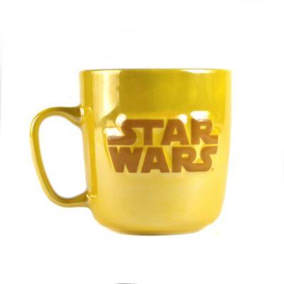 Taza metálica con relieves de C-3PO, Star Wars