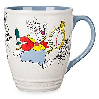 Disney Store Mug Lapin blanc, Alice au Pays des Merveilles