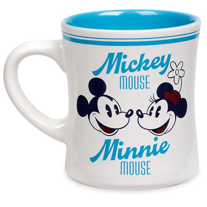 Disney Store Mug Mickey et Minnie bleu, Fall Fun