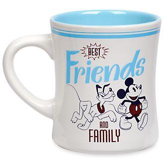 Disney Store Mickey and Pluto Fall Fun Mug