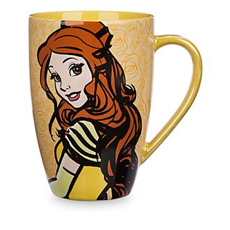 Mug citation de Belle, Disney Store