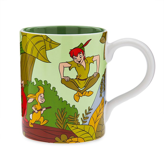 Taza vintage Peter Pan, Disney Store