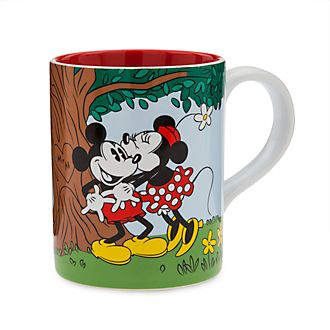 Disney Store Mickey and Minnie Vintage Mug