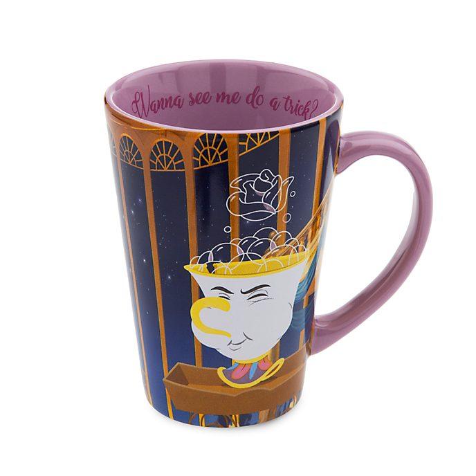 Disney Store Chip Mug, Beauty and the Beast