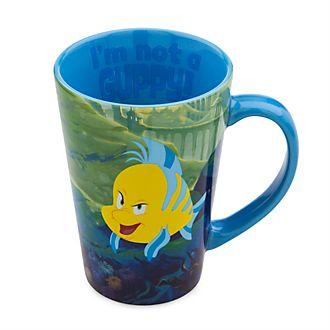 Disney Store Flounder Mug, The Little Mermaid